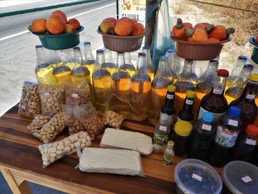 Alle Produkte aus der Cajú-Frucht
