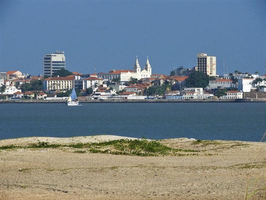 Blick auf die Altstadt von São Luís....