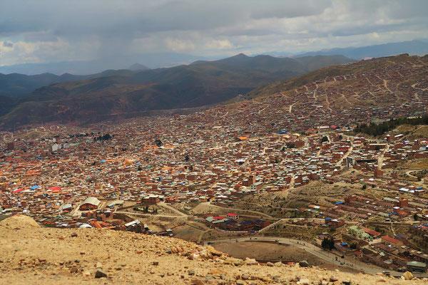 Blick auf Potosí