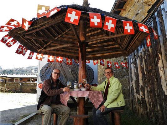 Wir feiern 1. August mit Fondue