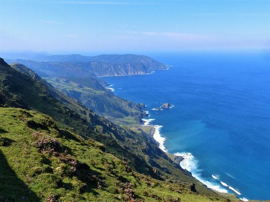 Bis zu 620 Meter hohe Kliffs
