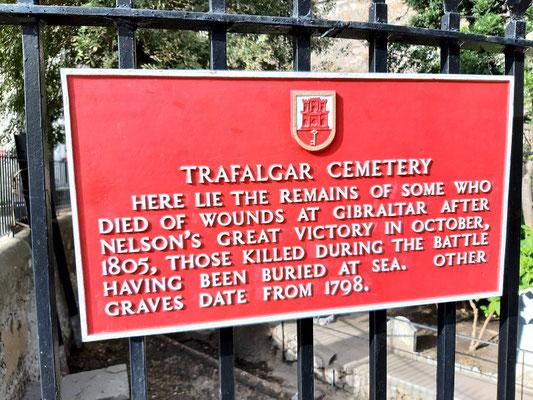 Die See-Schlacht vor Trafalgar war hier gleich um die Ecke