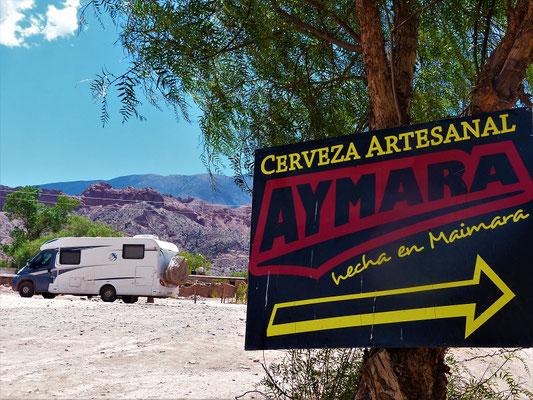 Maimara - Besuch der Kleinbrauerei Aymara