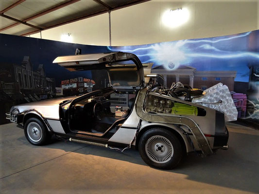 DeLorean - aus dem Film 'Back to the Future'