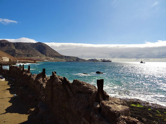Kurz vor Antofagasta