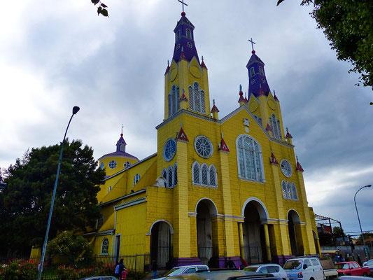 Kathedrale 1906 erbaut - Holzarchitektur aus Alerce