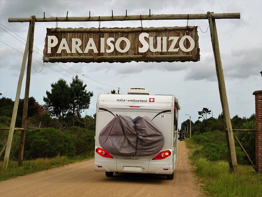 Unser erster Camping in Uruguay