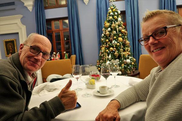 Wir feiern Weihnachten im Hotel Libertador