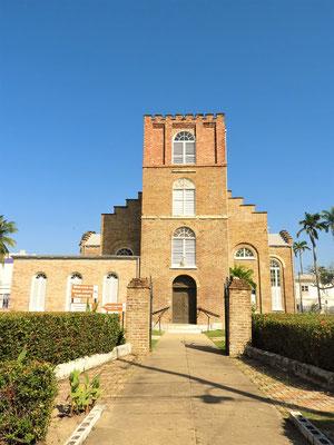 Kathedrale - wurde von Sklaven zwischen 1812 und 1820 erbaut und hatte einst auch eine Turmspitze