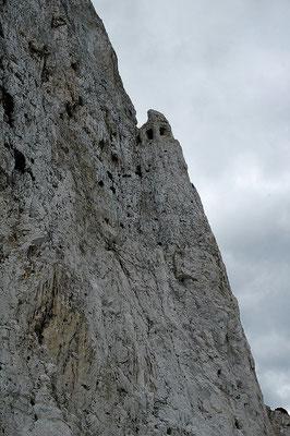 The Notch - Geschütze im Felsvorsprung
