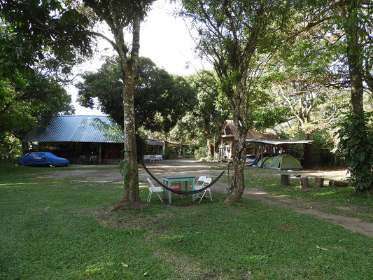 Unser Camping bei La Casa de Juan