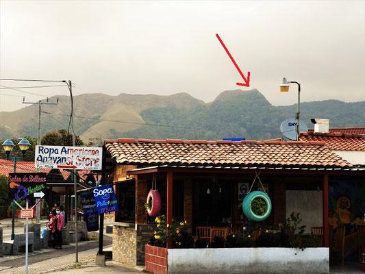 Wir beschliessen eine Wanderung zur La India Dormida auf 930müM....