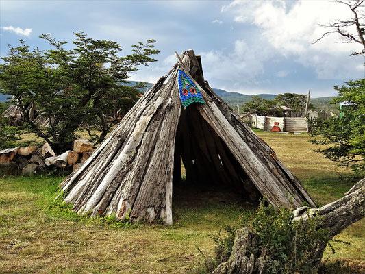 Windschutz  vor dem ewigen patagonischen Wind