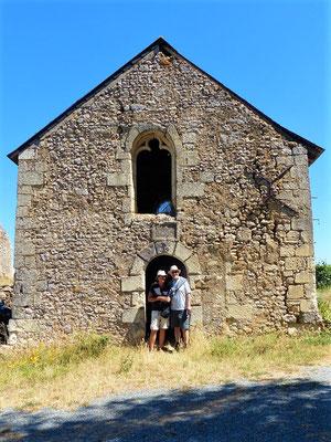 ....und der Kapelle
