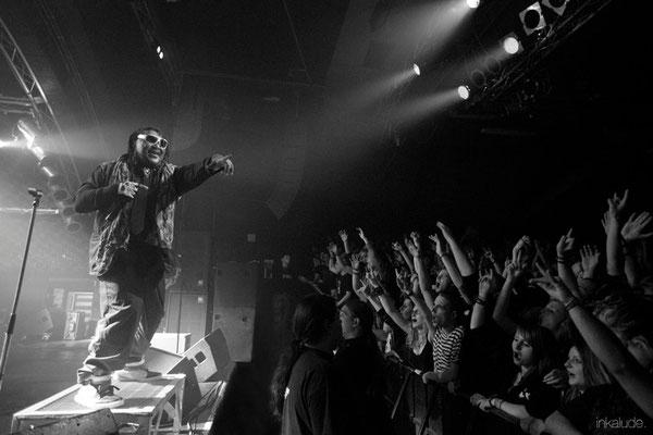 Skindred   Markthalle Hamburg - The crowd   inkalude