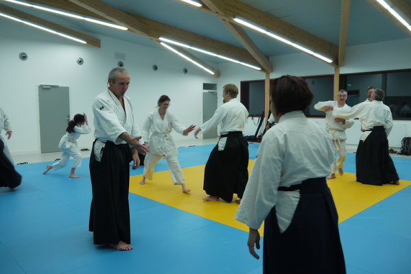 Dojo Lans en Vercors - Aïkido Club des 4 montagnes - Crédit : Katelyne Bräunlich