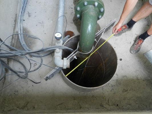Überprüfung bestehender Brunnen