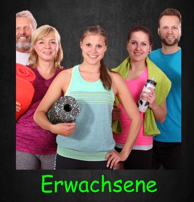 Training für Erwachsene, Zirkeltraining, Krafttraining, Ausdauertraining, Beweglichkeitstraining, Faszientraining, Athletiktraining