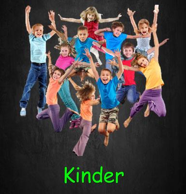 Training für Kinder, Bewegungsgeschichten, Zirkeltraining, Krafttraining, Ausdauertraining, Beweglichkeitstraining, Faszientraining, Athletiktraining