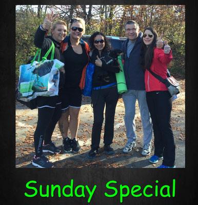 Sunday Special Training, Gruppentraining, Fun, Spass, Bewegung