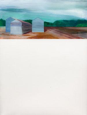 sans titre. huile et acrylique/toile. 200/150cm. 2017