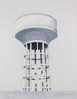 Château d'eau . Huile sur toile. 146/113 cm . 2015