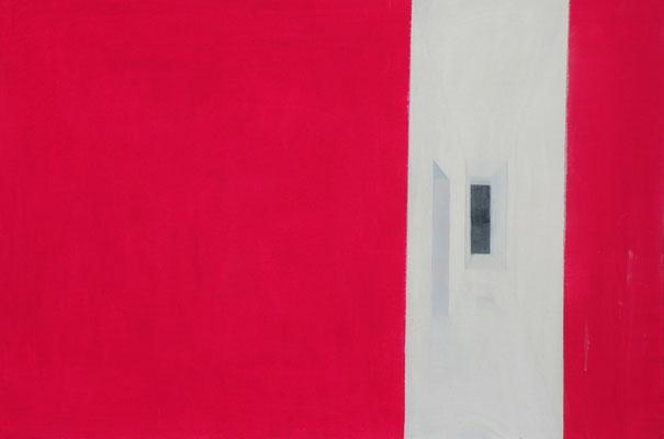 Corridor. huile et acrylique sur toile . 80/120 cm . 2012