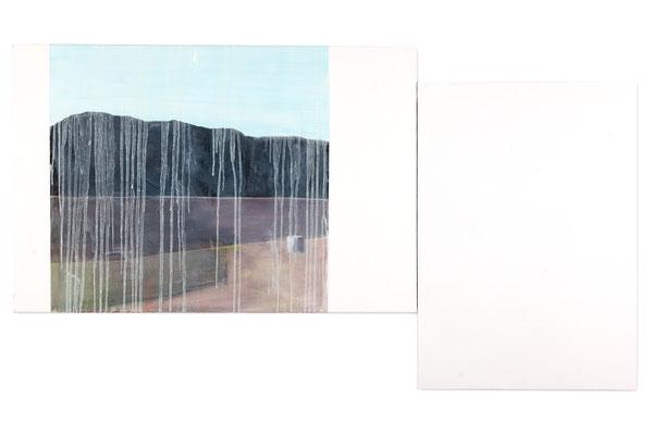 Paysage. huile et acrylique/toile. 100/180cm. 2012