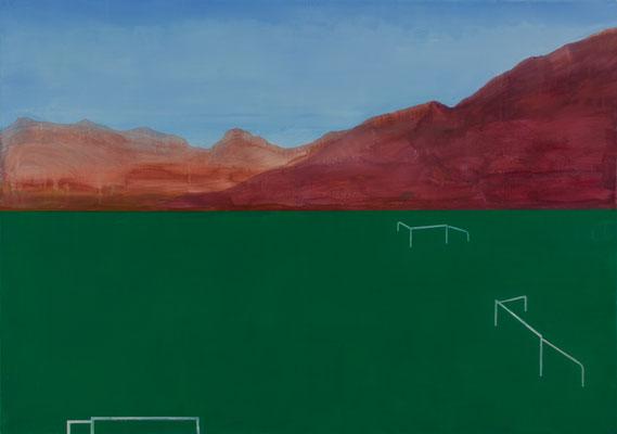 Paysage. Huile/toile. 113/162 cm. 2015