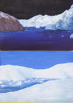 Paysages. huile sur contreplaqué. 24/36cm. 2017