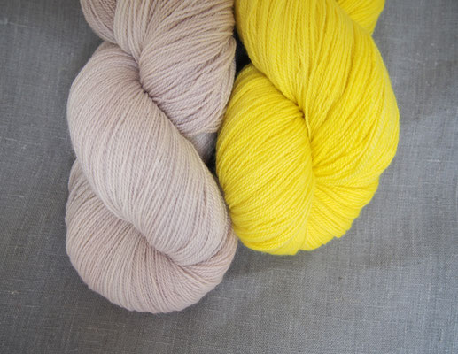 welthase angel lace, a beautiful combination: lemon & hazel
