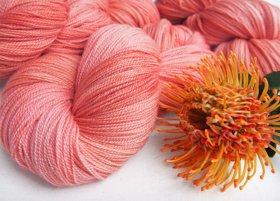 Super soft: Angel Lace in the beautiful BELLINI colour way