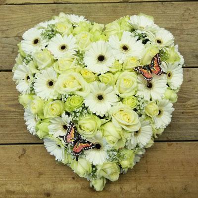 Hart germini´s, rozen en vlinders