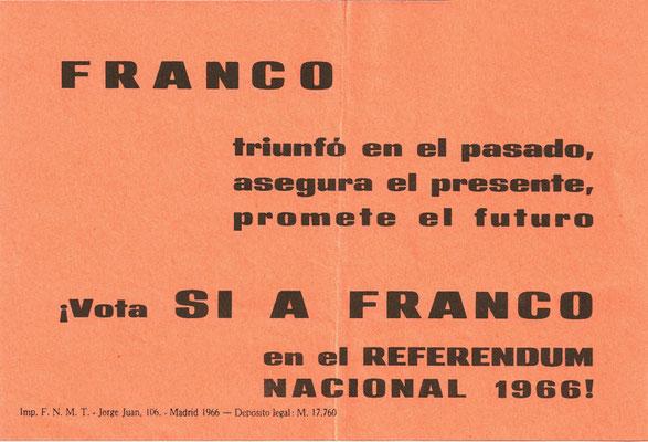 Campaña propaganda del referéndum anterior.