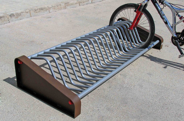 Parking à vélos - mobilier urbain Imagin'Aires