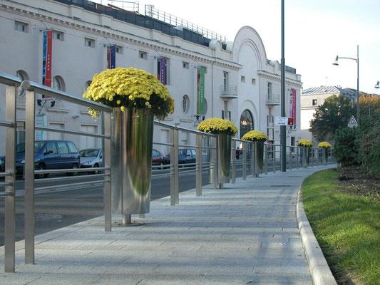 Jardinières - mobilier urbain Imagin'Aires