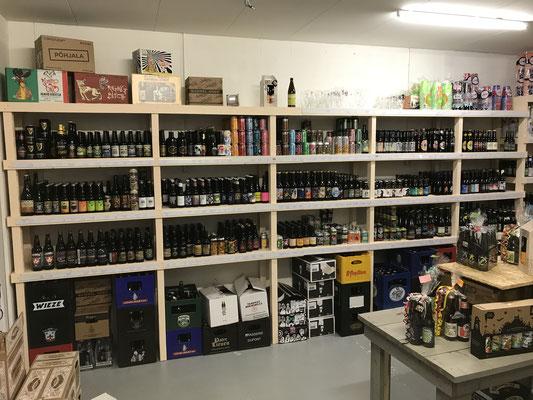 Bier uit Schotland, Ierland, de UK, Denemarken, Zweden, Finland, Estland, Noorwegen en de Verenigde Staten