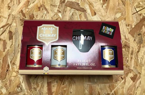 Cadeau Chimay met glas