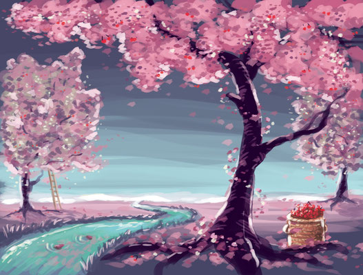 Die Kirschbaumfelder eines Happy Ends!