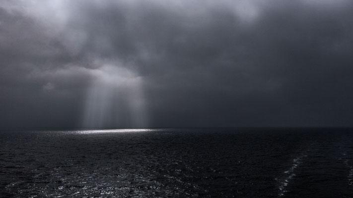 Im Kattegat ist es fast am regnen