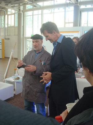 "2013 SAP Forum, mit ""Albatros"" Michael Groß"