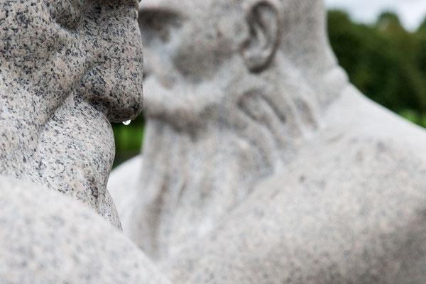 Vigeland Skulpturenpark - Oslo tropfende Nase