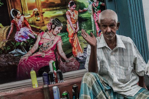 Colombo Portrait eines stolzen Dienstleisters