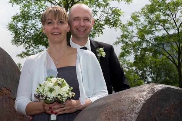 Schönes Wetter bei der Hochzeit, auch in den Köpfen