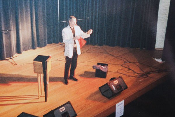 1997 – Damals noch als Peter Schütte ohne Künstlernamen