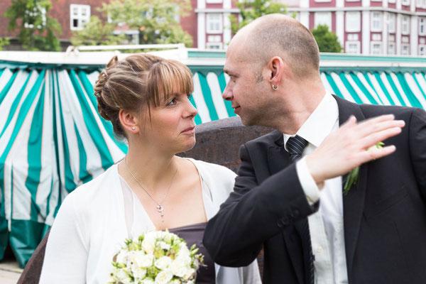 Hochzeits-Ironie