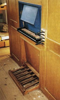 Orgel Bielkapelle (Manual / Pedal)