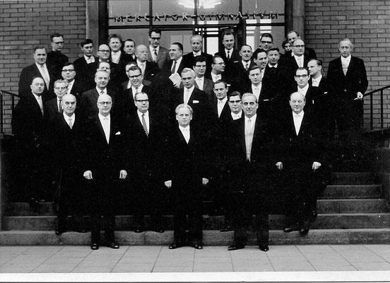 Lehrerkollegium Mercator-Gymnasium (ca. 1965)