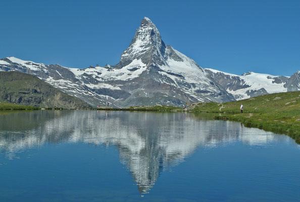 Matterhorn mit Stellisee