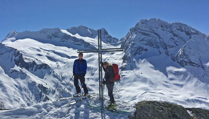 auf dem Staldhorn (Walliser Alpen, 2018)